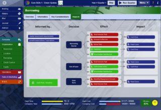 Borrowing Decision Impacts screenshot