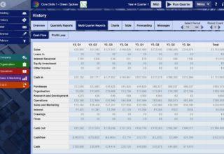 Financial Reporting screenshot
